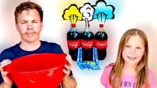 Coca Cola VS Mentos EKSPERIMENT.