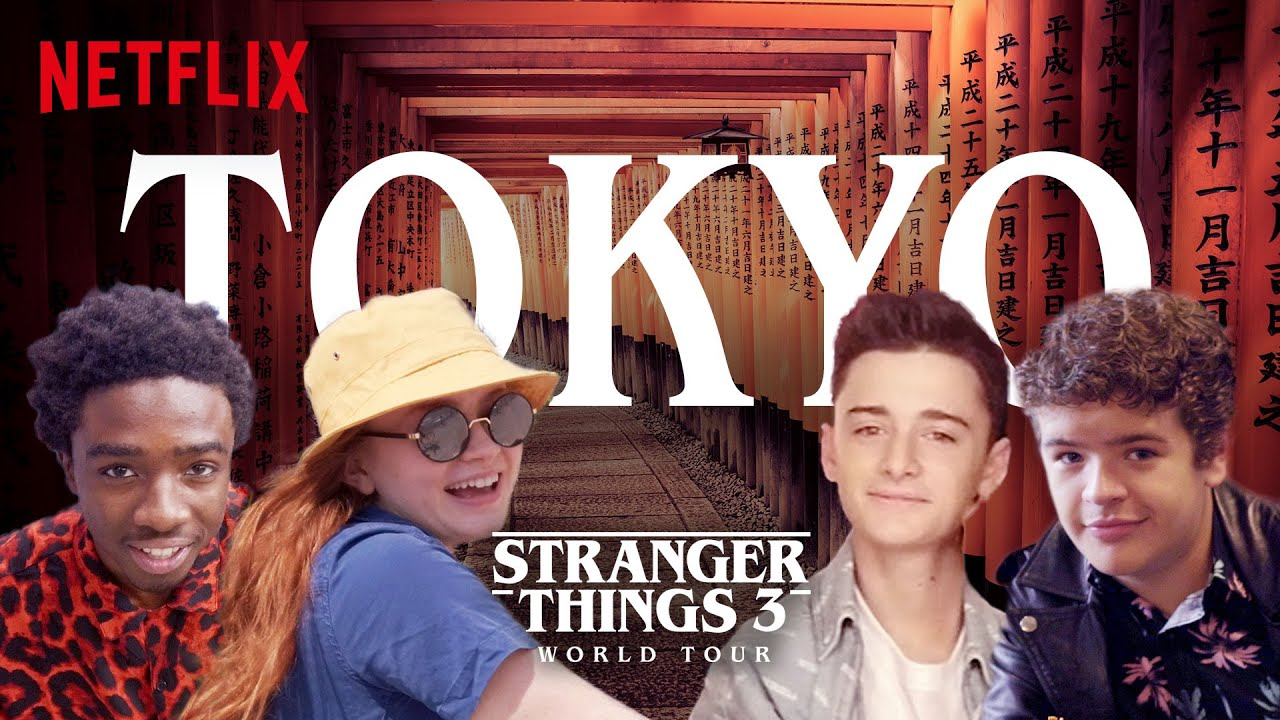 Video - Stranger Things 3 World Tour Tokyo Episode 3