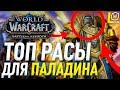 ТОП РАСЫ ДЛЯ ПАЛАДИНА WORLD OF WACRAFT BATTLE FOR AZEROTH