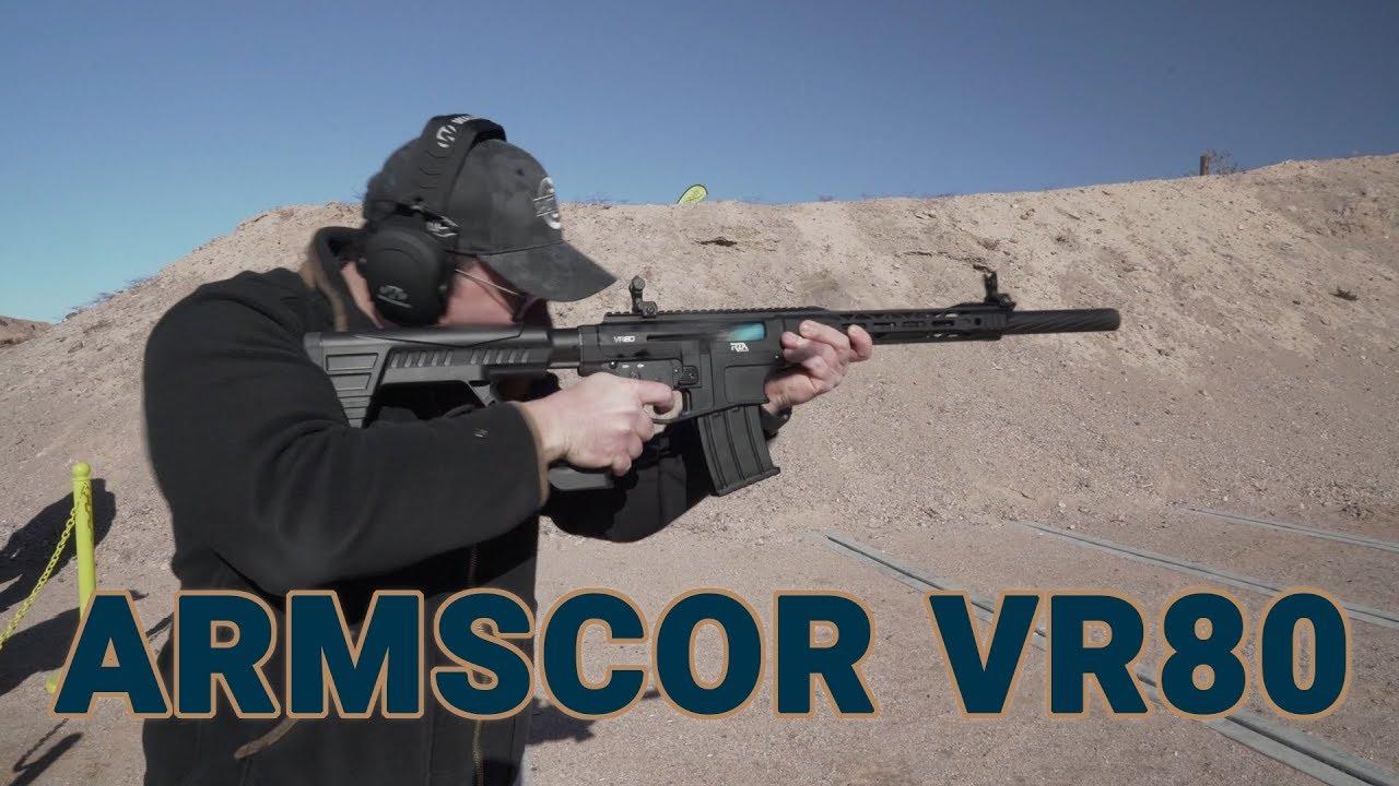 Rock Island lands the new Armscor VR80 shotgun on U S  shores (VIDEO)