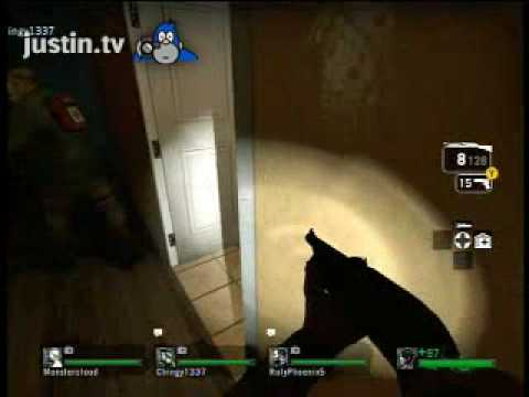 L4D - Chingy Screams then gets Barfed On