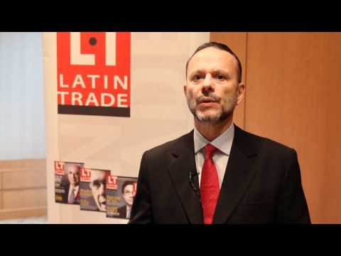 Coutinho at Latin Trade Symposium