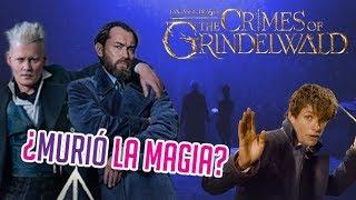 MURIÓ la magia? ANIMALES FANTÁSTICOS 2: LOS CRIMENES DE GRINDELWALD?| Opinión