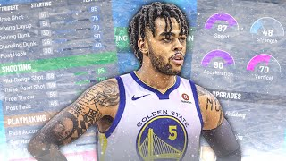 *UNGUARDABLE* D'Angelo Russell Build In NBA2K20