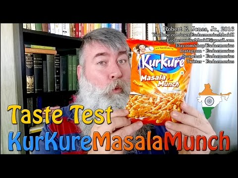 Taste Test - KURKURE MASALA MUNCH - Day 16,936