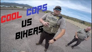Cool Cops vs Bikers - Bikers RUN From Cool Cops #1 - FNF