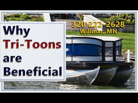 Most Popular Triple Pontoons Explained, What Are The Advantages - Pontoon Boats For Sale  Minnesota