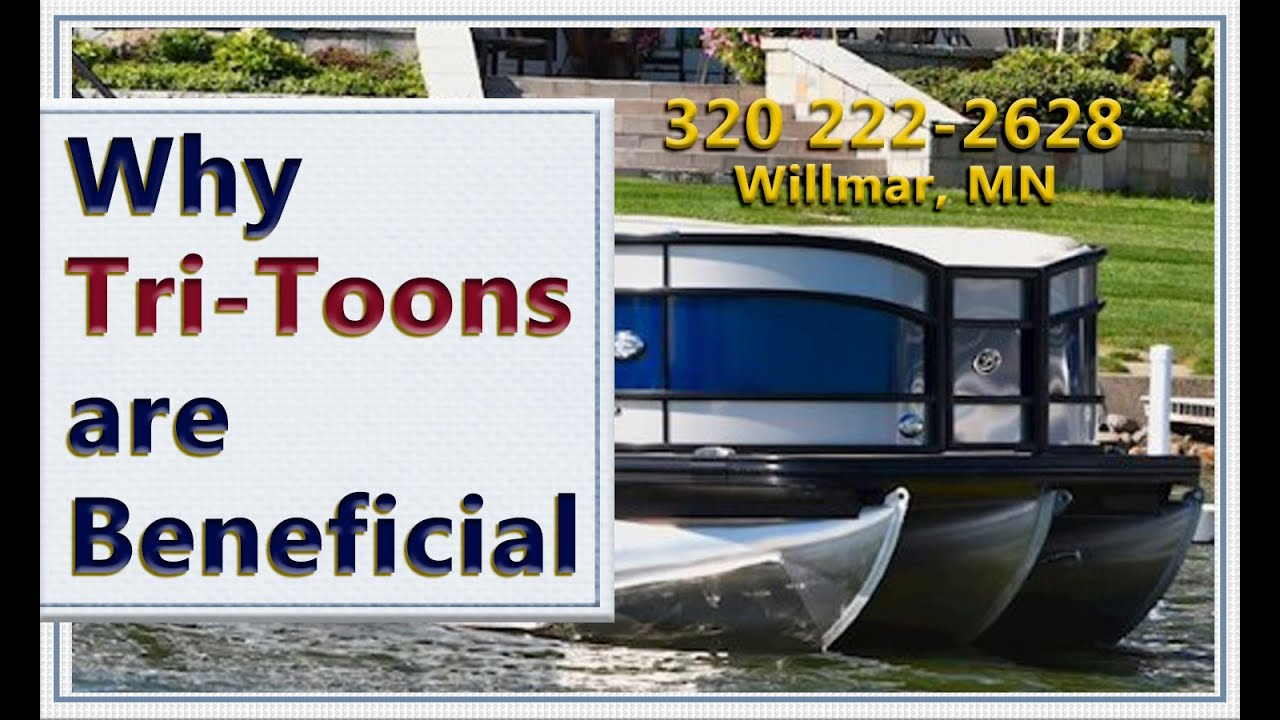 Triple Pontoons Explained, What are the Advantages - Pontoon Boats for Sale  Minnesota Boat Dealer