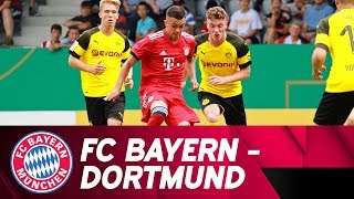 FC Bayern vs. Borussia Dortmund 2-3 | Highlights | Under-17 - Final