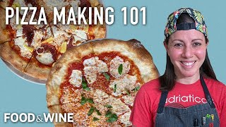 Bake Like a Pizza Pro At Home With Brooklyn Pizzaiola Miriam Weiskind | Chefs at Home | Food & Wine