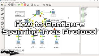 ✅ How to Configure Spanning Tree Protocol on Cisco Switch in GNS3 |What is Spanning Tree SYSNETTECHS