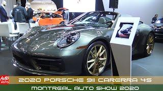 2020 Porsche 911 Carerra 4S - Exterior And Interior - Montreal Auto Show 2020