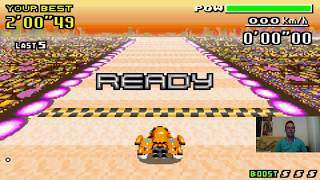 Let's Play F-Zero - MaxVelocity I Part 153 I das Jet-Bishop-Zeitfahren