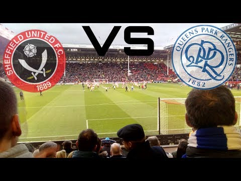 Sheffield united vs QPR 1-0 away vlog *TERRIBLE PERFORMANCE