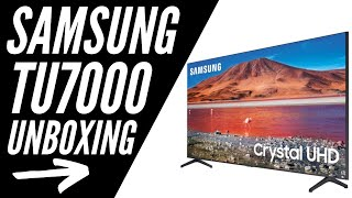 "Samsung TU7000 65"" Smart TV Unboxing"