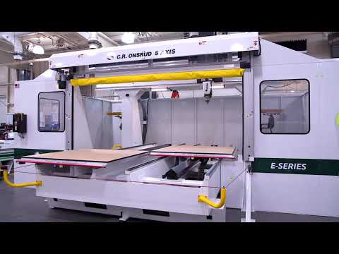F122E24C Shuttle Table Dry-run | Large-format 5-axis CNC Machine W/enclosure
