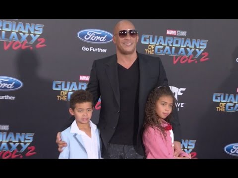 Guardians of the Galaxy Vol. 2: World Premiere Highlights - Chris Pratt, Vin Diesel, Zoe Saldana