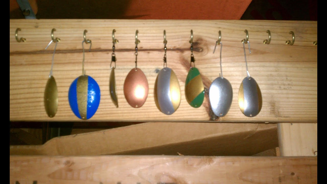 DIY HOMEMADE FISHING LURES. HOW-TO MAKE A SPOON LURE ...