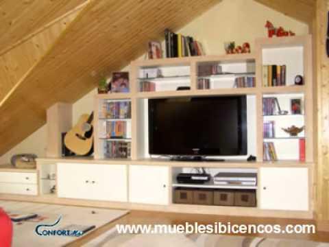 Muebles ibicencos confort mas no es pladur ni escayola - Muebles de mamposteria de salon ...