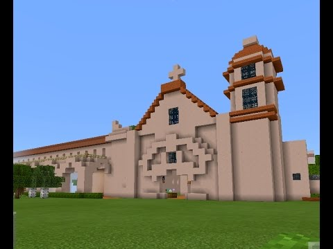 California Missions on Minecraft Class Project