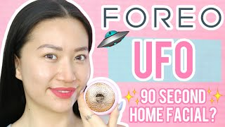 90 SECOND HOME FACIAL? FOREO UFO REVIEW! | Doll Up Mari