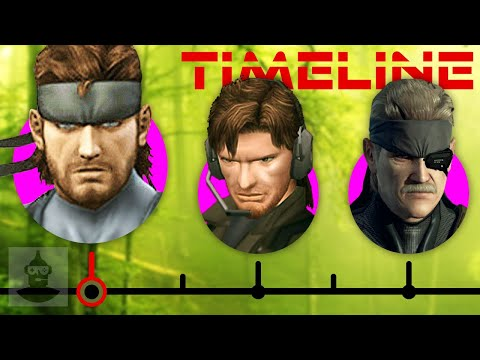 The Complete Metal Gear Solid Timeline (Pt. 2) - Solid Snake Ft. David Hayter   The Leaderboard