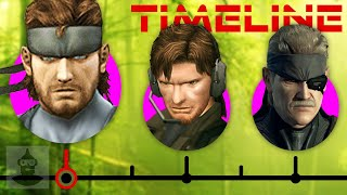The Complete Metal Gear Solid Timeline (Pt. 2) - Solid Snake Ft. David Hayter | The Leaderboard