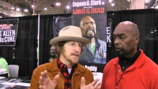 Eugene Clark interviews Lew Temple, (Axel) from the Walking Dead at: WALKER STALKER CON CHICAGO 2015