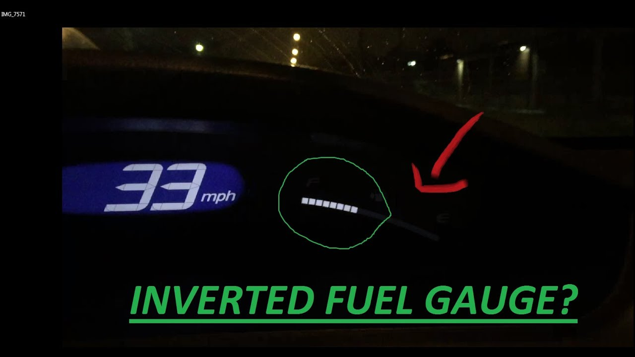 Gas Gauge Not Working >> 8th Gen Honda Civic FUEL GAUGE Inverting Issue - YouTube
