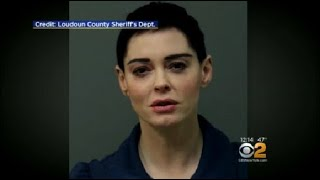 Rose McGowan Arrested On Felony Drug Charges