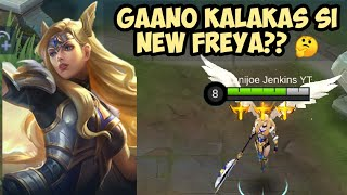 GAANO NGA BA KALAKAS YUNG REWORK NA FREYA?? | New Freya Gameplay