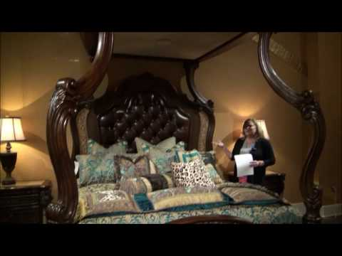 Victoria Palace Canopy Bedroom Set by Michael Amini
