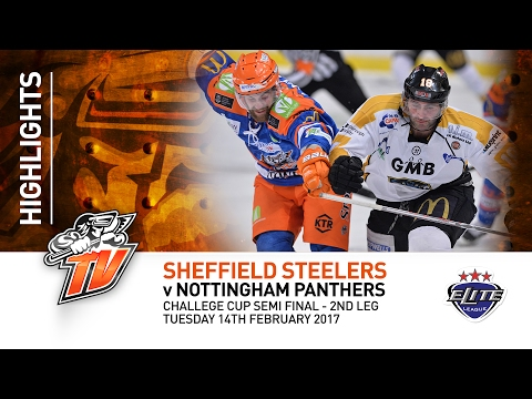 Sheffield Steelers v Nottingham Panthers - CC Semi Final 2nd Leg - Tuesday 14th February 2017