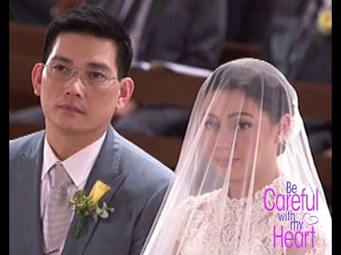 be careful with my heart richard and maya wedding youtube