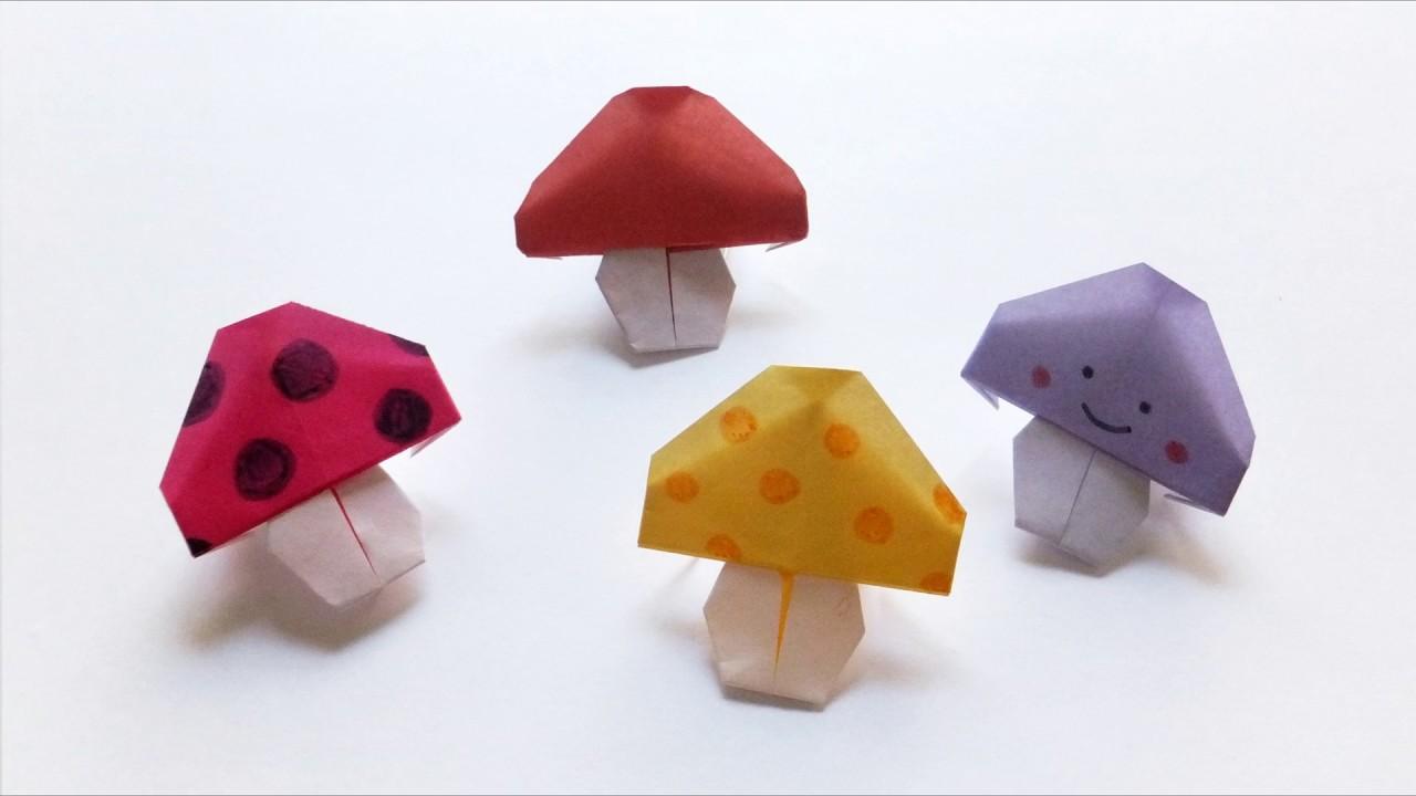 Resultado de imagen para origami hongo
