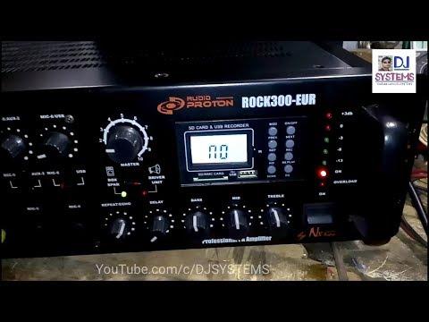 300 watts power amplifier proton (हिंदी)