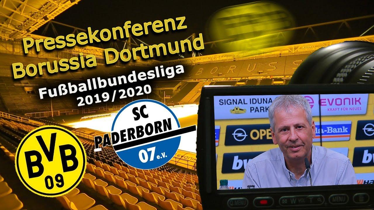 Borussia Dortmund Sc Paderborn Pk Mit Lucien Favre