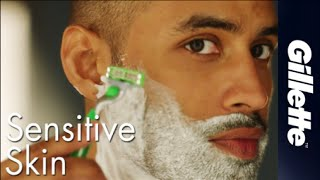 Shaving Tips for Sensitive Skin | Gillette Mach3 Sensitive