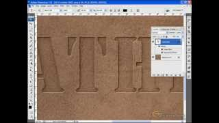 ActionFx.com - Pressing Shapes itno Leather - Photoshop Tutorial