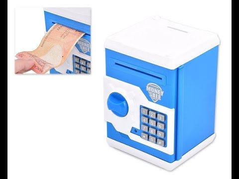 Install A Cheap safe in your home Electronic Safes Money Saving Box with Password Lock