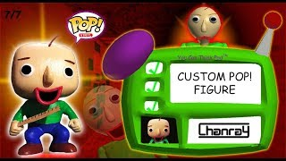 Baldi's Basics Custom POP! Figure (Tutorial)