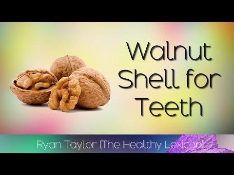 Walnut Shells: for Teeth (Tartar)