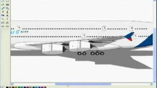 A380 Microsoft Paint