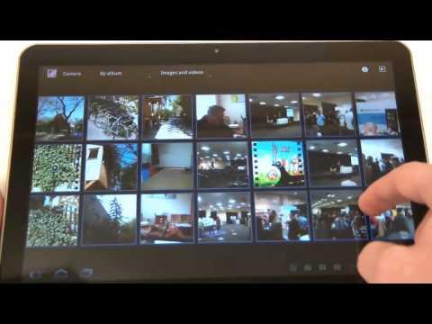 Samsung Galaxy Tab 10.1V - Photos and videos