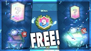 WON 2 FREE LEGENDARY CHESTS! | Clash Royale | x2 LEGENDARY CHEST OPENING!!
