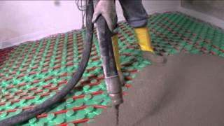 Samonivelační betonová podlaha Floorpact od Holcimu