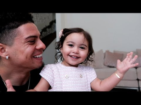 ELLE SAYS DADDY'S NAME FOR THE FIRST TIME!!! - YouTube