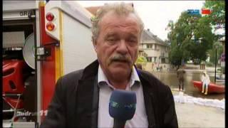 2013.06.04 Bericht MDR um 11 Hochwasser - Freiwillige Feuerwehr Halle Ammendorf