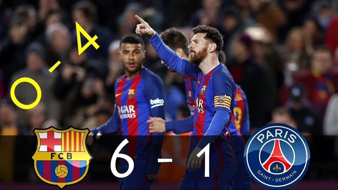 Paris Vs Barcelona
