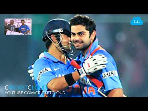GAUTAM GAMBHIR gave his Man of Match Award to VIRAT KOHLI !! Cricket Extraordinary Moment !!